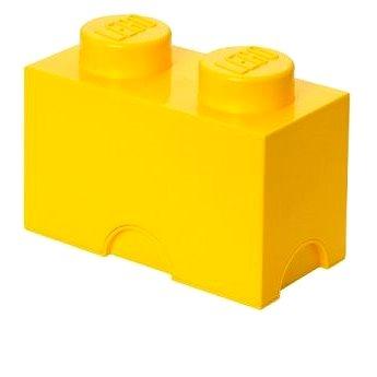 LEGO Úložný box 125 x 250 x 180 mm - žlutý (5706773400225)