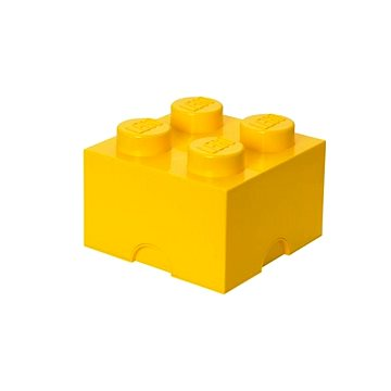 LEGO Úložný box 250 x 250 x 180 mm - žlutý (5706773400324)