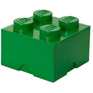LEGO Úložný box 250 x 250 x 180 mm - tmavě- zelený (5706773400348)