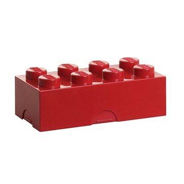 LEGO Box na svačinu 100 x 200 x 75 mm - červený (5706773402304)