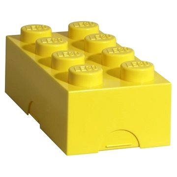 LEGO Box na svačinu 100 x 200 x 75 mm - žlutý (5706773402328)