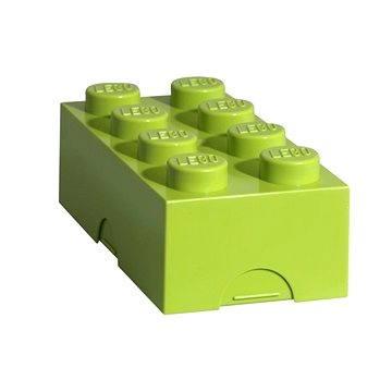 LEGO Box na svačinu 100 x 200 x 75 mm - světle zelený (5701922402303)