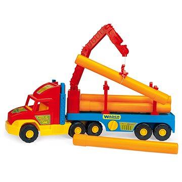 Wader - Super Truck - Stavební s rourami (5900694365407)