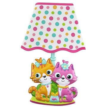 Dětská lampička na zeď - Kočky (8595582222961)