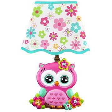 Dětská lampička na zeď - Sova (8595582222886)