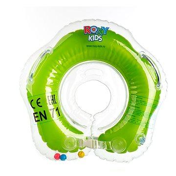 Plavací nákrčník Flipper zelený (8592190105037)