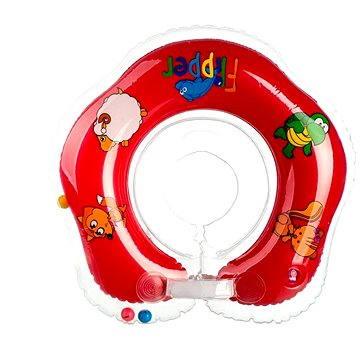 Plavací nákrčník Flipper červený (8592190105044)