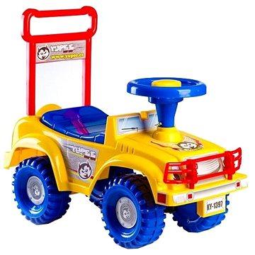 Odrážedlo auto Jeep Yupee žluté (8592190139612)