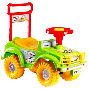 Odrážedlo auto Jeep Yupee zelené (8592190139629)