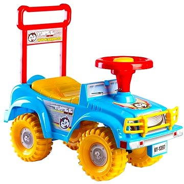 Odrážedlo auto Jeep Yupee modré (8592190139636)