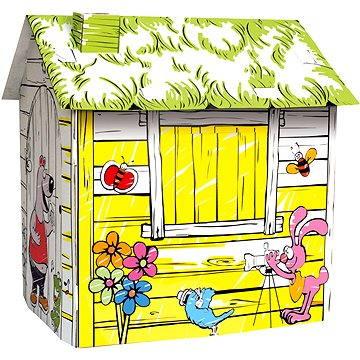 Bino Kartonový domek - Farma (4019359440012)