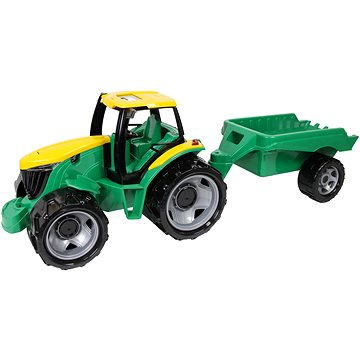 Lena Traktor plast bez lžíce a bagru s vozíkem (4006942811304)