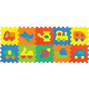Pěnové puzzle - Dopravní prostředky (8590331186297)