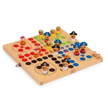 Dřevěné hry - Člověče nezlob se, piráti (4020972109514)