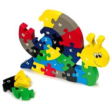 Vkládací puzzle - Šnek (4020972019929)