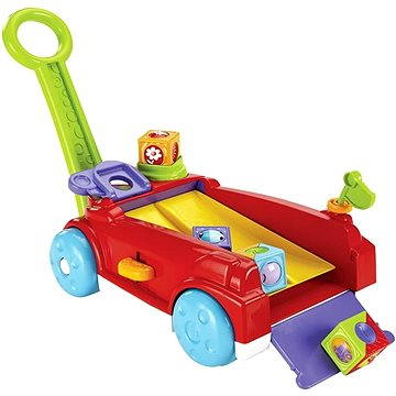 Fisher-Price - Vozík s kostkami (0887961058512)