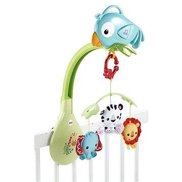 Fisher-Price - Kolotoč 3v1 Rainforest (0887961086324)