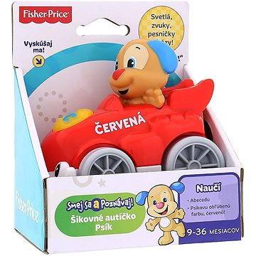 Fisher-Price - Chytré autíčko červené (ASRT0887961218701)