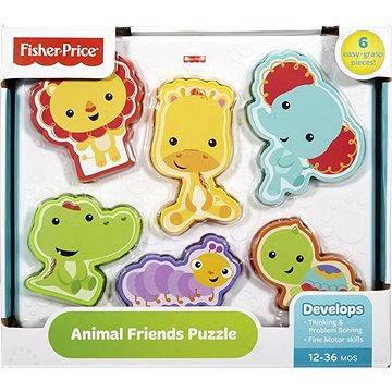 Fisher-Price - Puzzle se zvířátky (0887961168440)