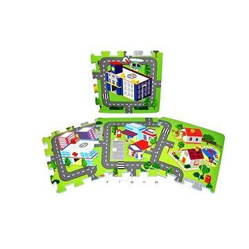 Pěnové puzzle - Město (8590331186327)