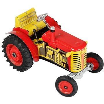 Kovap Traktor Zetor na klíček červený (8594988003808)