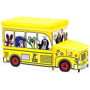 Bino Krteček - Krabice na hračka Autobus (4019359137936)