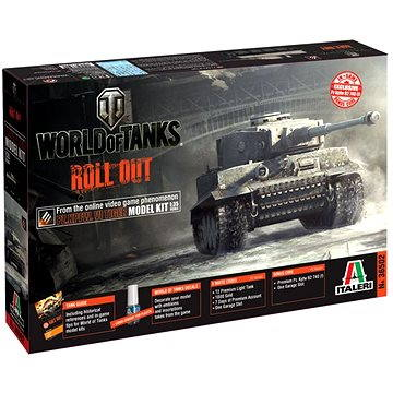 Italeri World of Tanks 36502 – Pz. Kpfw.VI Tiger I (8001283365024)