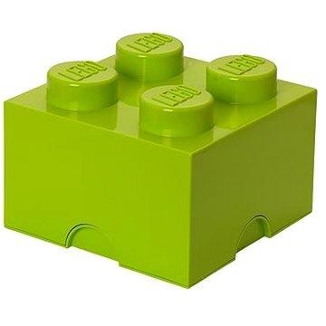 LEGO Úložný box 4 250 x 250 x 180 mm - limetkově zelený (5701922400309)