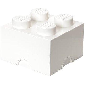 LEGO Úložný box 4 250 x 250 x 180 mm - bílý (5706773400355)