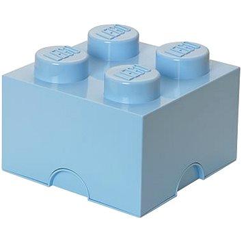 LEGO Úložný box 4 250 x 250 x 180 mm - světle modrý (5706773400362)
