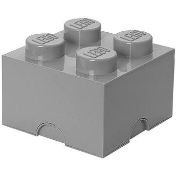 LEGO Úložný box 4 250 x 250 x 180 mm - šedý (5711938015565)