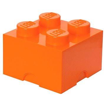 LEGO Úložný box 4 250 x 250 x 180 mm - oranžový (5711938026035)