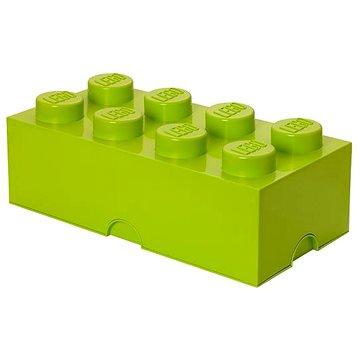 LEGO Úložný box 8 250 x 500 x 180 mm - limetkově zelený (5701922400408)