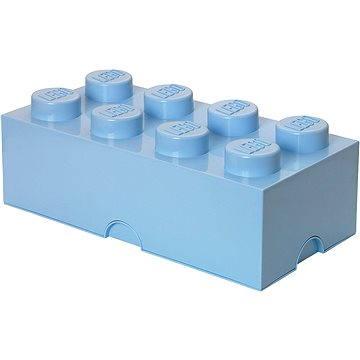 LEGO Úložný box 8 250 x 500 x 180 mm - světle modré (5706773400461)