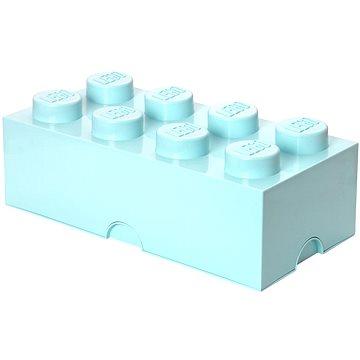 LEGO Úložný box 8 250 x 500 x 180 mm - aqua (5711938015701)