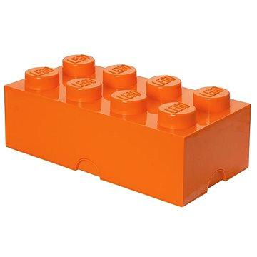 LEGO Úložný box 8 250 x 500 x 180 mm - oranžový (5711938026066)