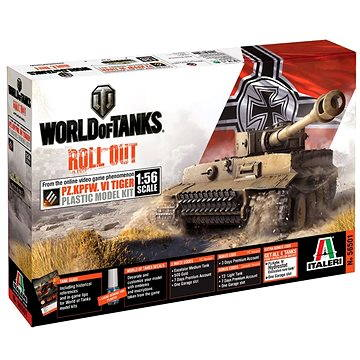 Italeri World of Tanks 56501 – Pz.Kpfw. VI Tiger (8001283565011)