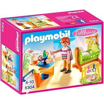 Playmobil 5304 Dětský pokoj s kolébkou (4008789053046)