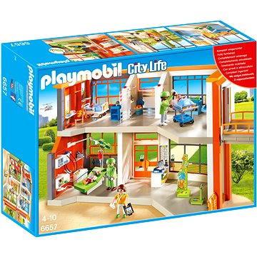 Playmobil 6657 Dětská nemocnice s přístroji (4008789066572)