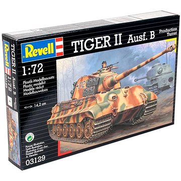 Revell Model Kit 03129 tank – Tiger II Ausf. B (4009803031293)