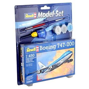 Revell Model Set 03999 letadlo – Boeing 747-200 (4009803639994)