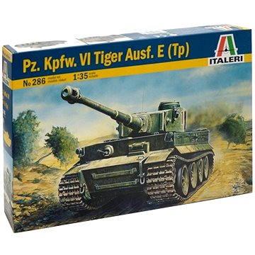 Italeri Model Kit 0286 tank – Pz. Kpfw. VI Tiger Ausf. E (Tp) (8001283802864)