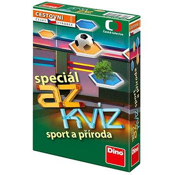 AZ Kvíz - Sport a příroda (8590878621725)