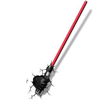 3D Světlo Star Wars Darth Vaderův světelný meč (816733020624)