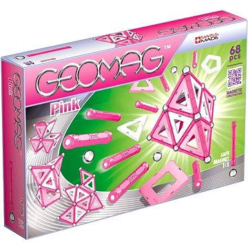 Geomag - Kids Pink 68 dílků (0871772003427)