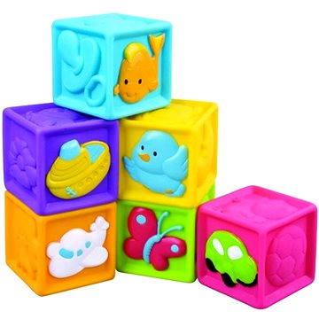 Dětské pískací kostky 6 ks (8592190233051)