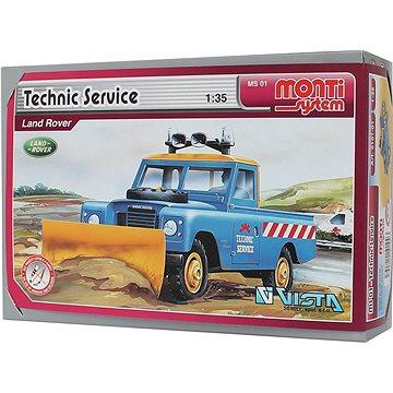 Monti system 01 - Technik Service Land Rover 1:35 (8592812101003)