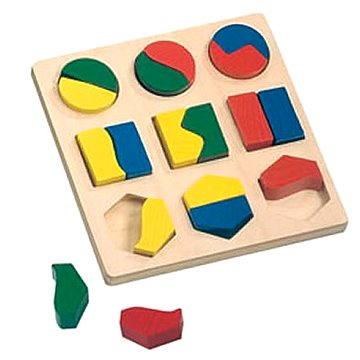 Bino Puzzle - Geometrické tvary (4019359840294)