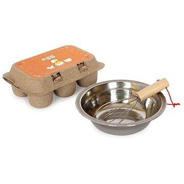 Dřevěné potraviny - Sada vajíček odklopitelná (4020972056665)