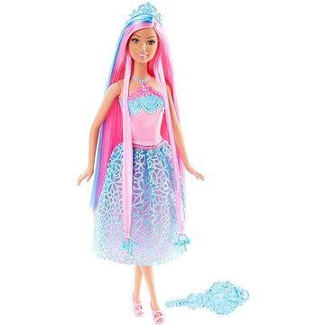 Mattel Barbie - Dlhovlásky s ružovými vlasmi (ASRT0887961234633)